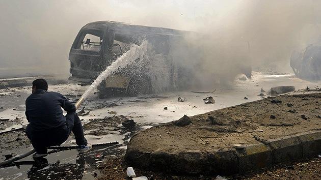 Siria: Una serie de explosiones sacude Damasco