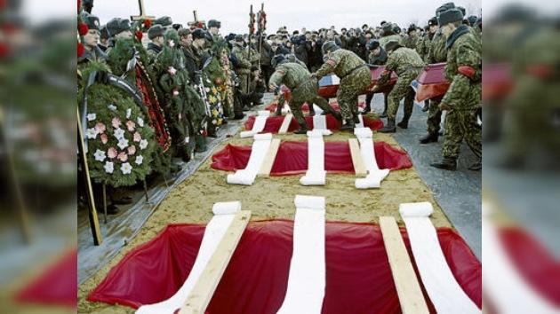 Rusia conmemora a los paracaidistas que sacrificaron sus vidas en Chechenia