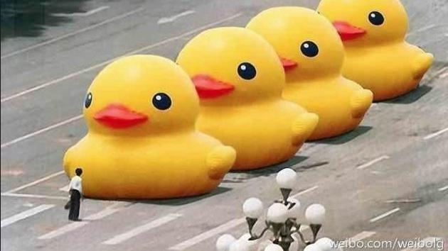 La masacre de Tiananmen: 'Hoy' y 'patito amarillo', palabras prohibidas en el internet chino