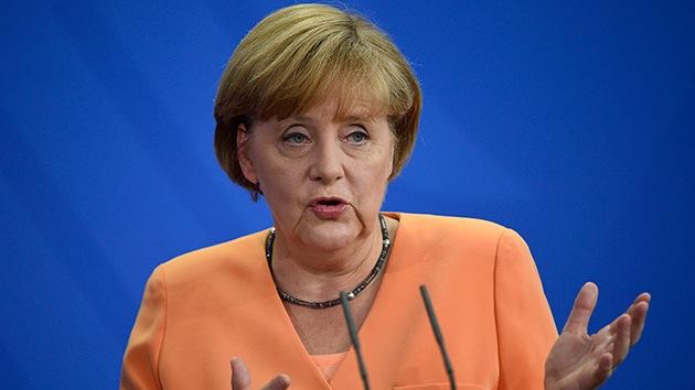 """Merkel: """"Alemania no suministrará armas a la oposición siria"""""""