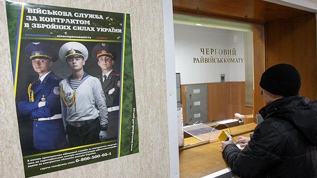 Solo el 1,5% de los asignados responde a la llamada de movilización de tropas en Ucrania