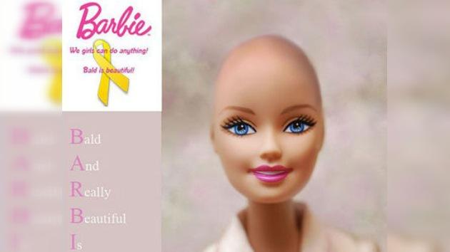 Barbies calvas para los niños con cáncer