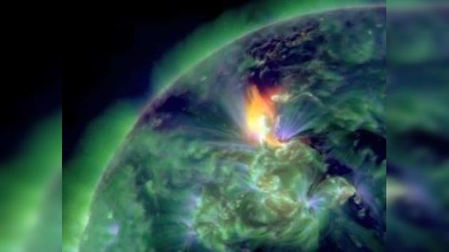 La Tierra experimenta el mayor impacto solar