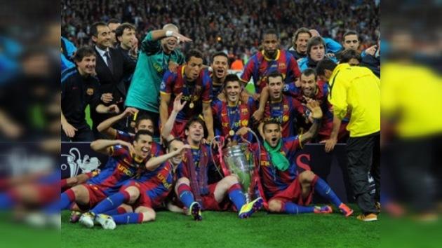 Barcelona conquista su cuarta corona de la Champions tras derrotar al Manchester United