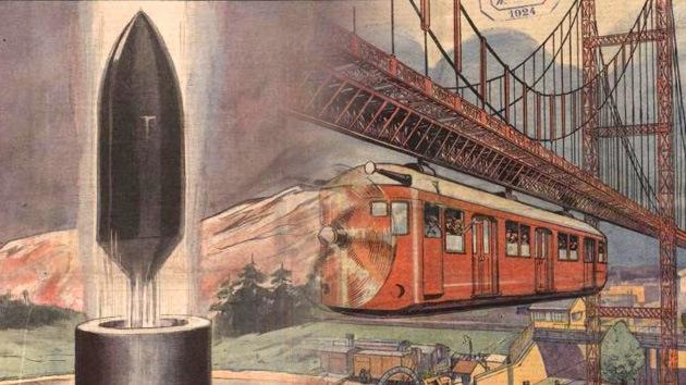 Cómo se imaginaban el futuro hace 100 años