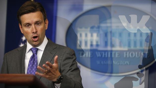 """Casa Blanca: """"Sacamos las pruebas contra Rusia de las redes sociales"""""""