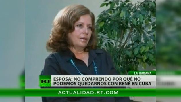 La esposa de René González, uno de 'Los Cinco' cubanos, habla en exclusiva para RT