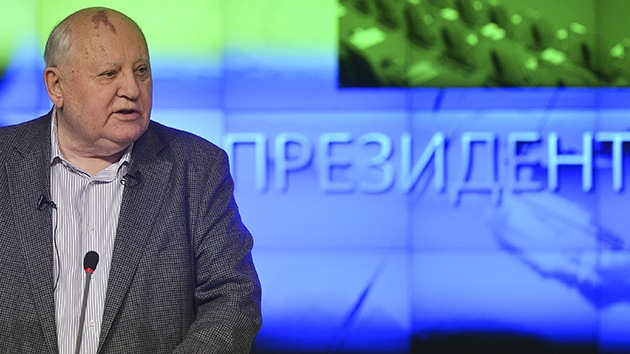 """Gorbachov: """"Los retos comunes, una base para que Occidente y Rusia retomen el diálogo"""""""
