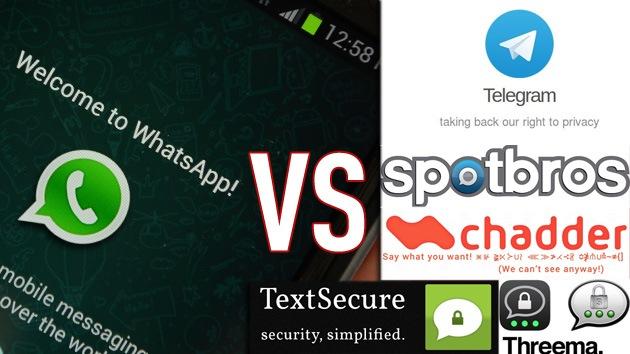 Cinco aplicaciones de mensajería que protegen la privacidad mejor que WhatsApp