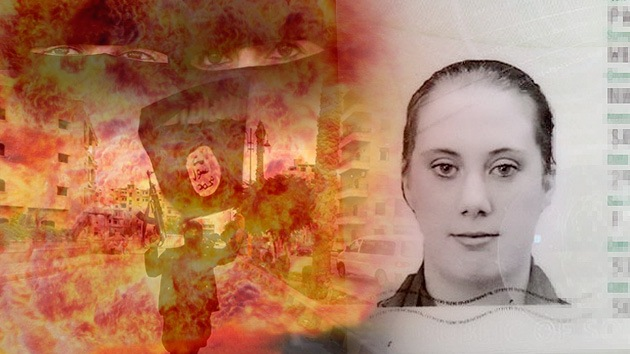 La 'viuda blanca' que entrena en Siria a terroristas suicidas del Estado Islámico