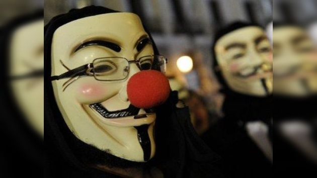 Anonymous apoya a Ocupa Wall Street atacando a los sitios de la Policía