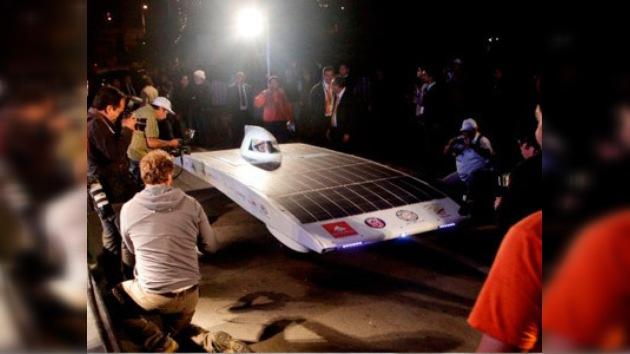 Chile gana la  primera carrera de vehículos solares de América Latina