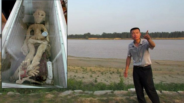 Envían a prisión a un granjero chino por inventar historia sobre captura de un 'alien'