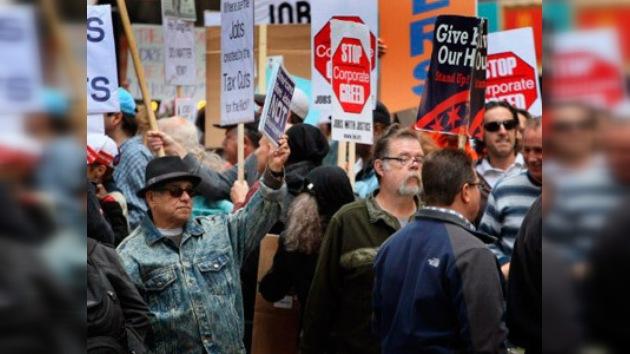 'Indignados' encienden la llama de la solidaridad global