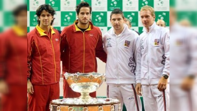 España y Chequia disputarán la final de la Copa Davis