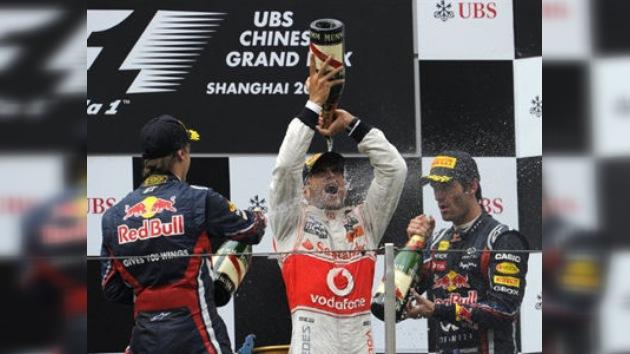 Hamilton rompió la serie de cuatro victorias consecutivas de Vettel