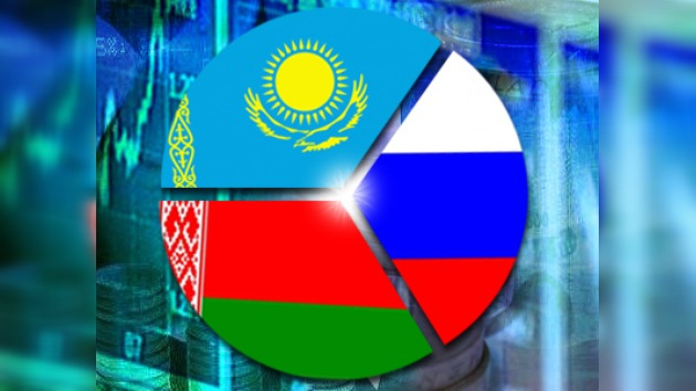 Rusia, Bielorrusia y Kazajistán: área económica común