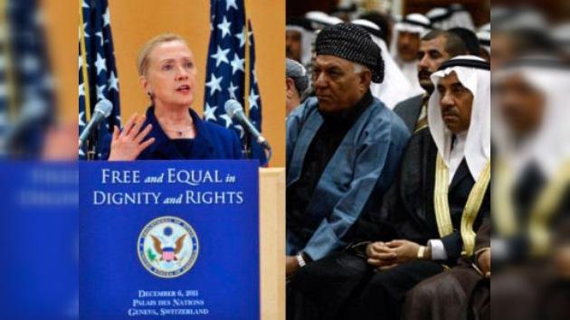 Clinton sale en defensa de los homosexuales ante diplomáticos árabes y africanos
