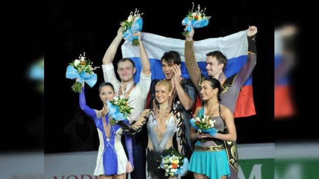 Rusia copa el podio en el Campeonato Europeo de Patinaje Artístico
