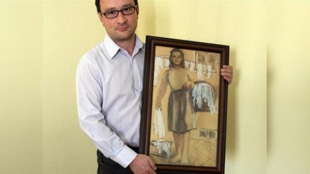 Un polaco quiere casarse con un cuadro