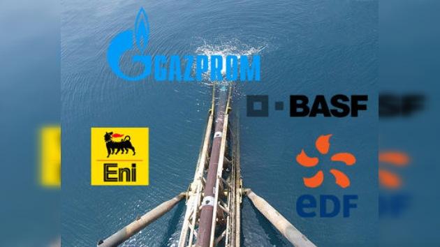 Las empresas europeas firman un acuerdo sobre el proyecto South Stream