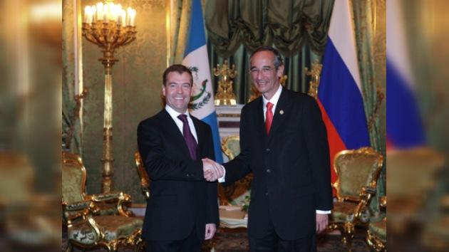Rusia y Guatemala amplían sus nexos económicos