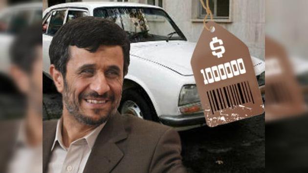 El automóvil de Mahmud Ahmadineyad valorado en un millón de dólares