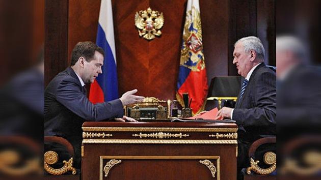 Medvédev: los organizadores de atentados han sufrido un castigo justo