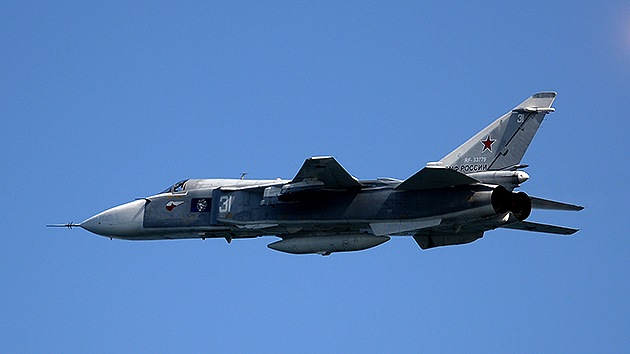 Japón envía cazas para interceptar un bombardero ruso