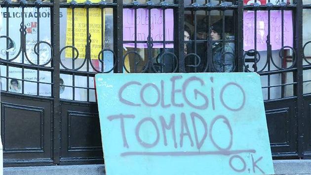 Lanzan en Argentina un manual sobre cómo ocupar un colegio
