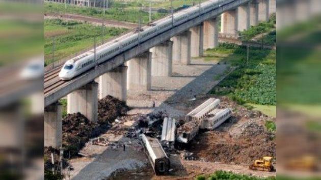 Suspendido el desarrollo de la alta velocidad ferroviaria en China