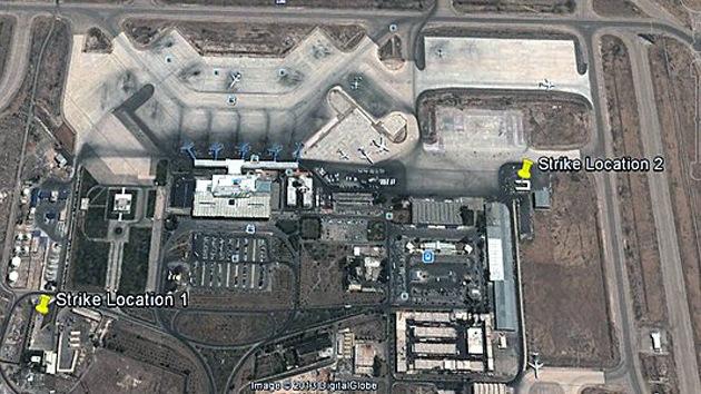 Reveladas las imágenes por satélite del ataque aéreo israelí contra Damasco