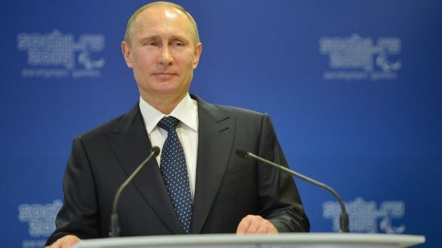 Rusia: El índice de popularidad de Putin alcanza un récord en los últimos cinco años