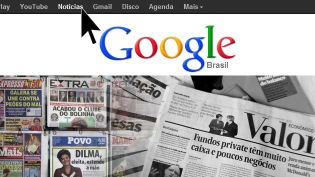 Brasil declara el boicot a Google News