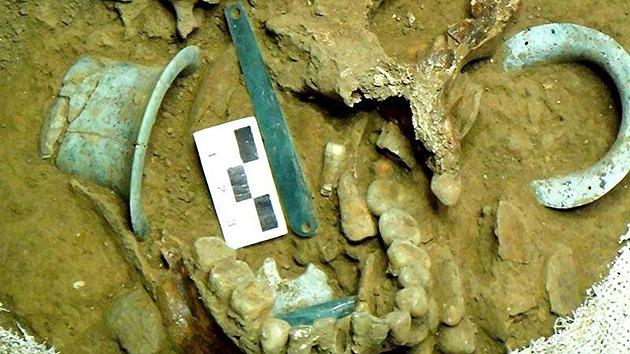 México: Hallan la tumba de un guerrero rico que fue decapitado hace 1.400 años
