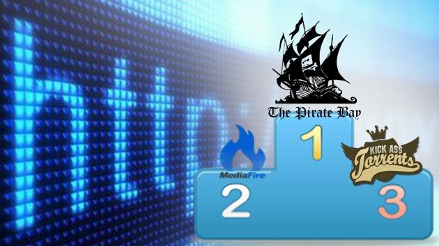 The Pirate Bay es el portal de intercambio de archivos más utilizado
