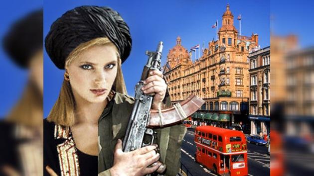 Gran Bretaña teme a las mujeres kamikaze