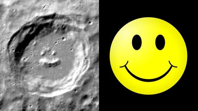 FOTO: Hallan un emoticono feliz en Mercurio