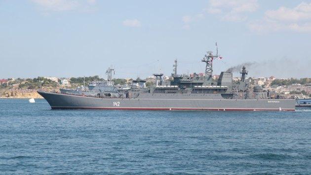 Buque de guerra ruso zarpa rumbo a Siria