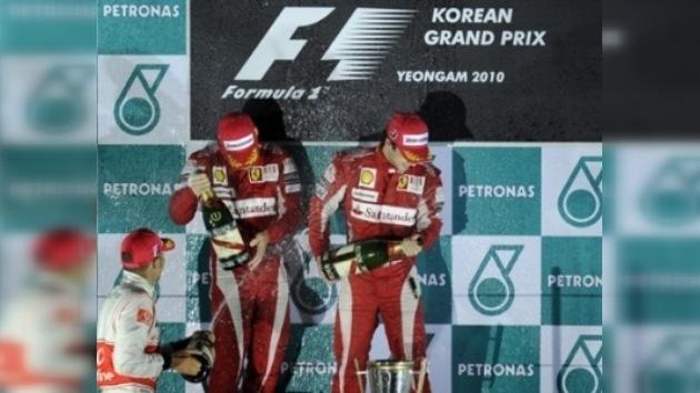 Fernando Alonso gana el Gran Premio de Corea del Sur y lidera el Mundial