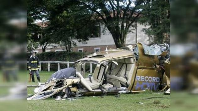 Un helicóptero se estrella en Brasil cubriendo la información del tráfico