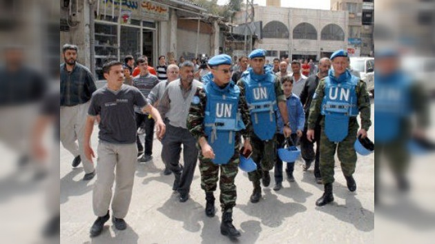 El Consejo de Seguridad votará hoy el envío de 300 observadores a Siria