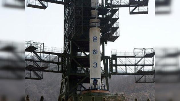 El cohete de Corea del Norte cayó al mar poco después de su lanzamiento