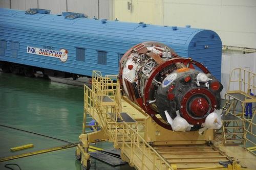 """Preparativos para el lanzamiento de la misión Soyuz TMA-21 """"Yuri Gagarin"""" a la Estación Espacial Internacional"""