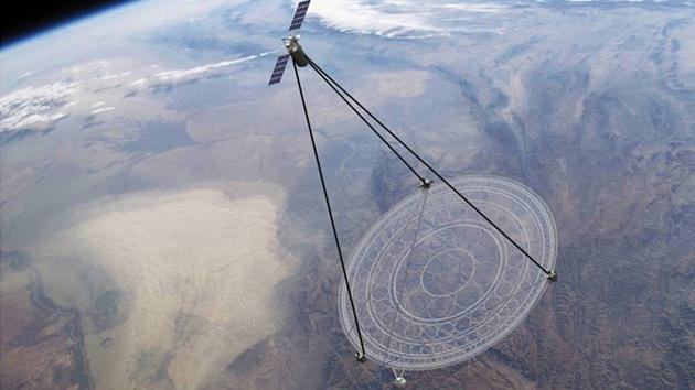 Video: DARPA diseña un satélite plegable gigante capaz de vigilar el 40% de la Tierra
