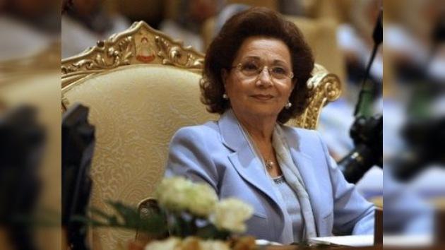 La mujer de Mubarak entrega sus propiedades y cuentas al Estado