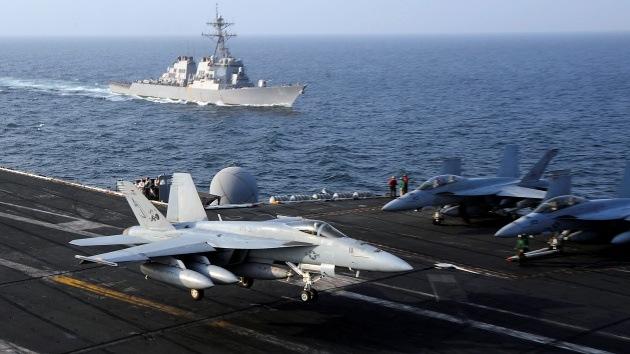 "EE.UU. planea un ""bombardeo masivo de 72 horas"" contra Siria"