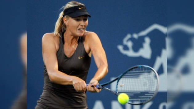 Sharápova avanza a cuartos de final en el torneo de Standford