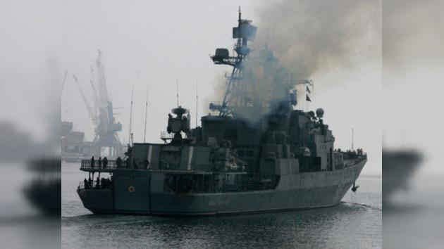 Rusia destina una nueva flota al golfo de Adén para combatir a los piratas
