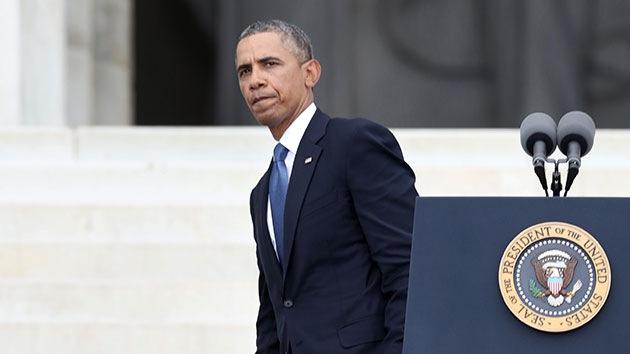 """Activistas a Obama: """"Disculpe, señor presidente, pero lo que dice es mentira"""""""